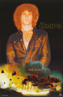 Lot Of 2 Posters :music:doors - The End - Jim Morrison   Free Ship  #9037 Lc19 K