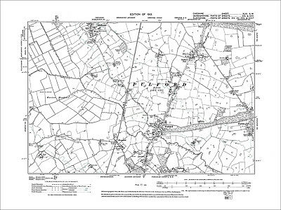 Pulford, Dodleston (S), Cuckoo's Nest, old map Cheshire 1913: 46SW
