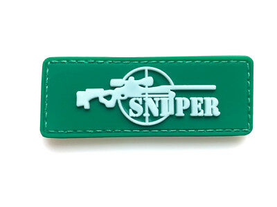 Sniper Army Morale Badge Tactical Pvc Hook Patch   Aa 1090