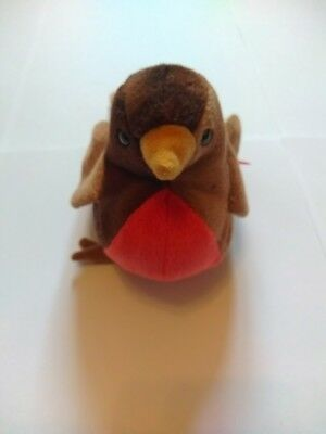 Early robin beanie baby ty babies no tag