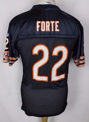 Forte #22 Chicago Bears American Football Jersey Nfl Youths Xl Reebok