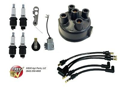 Allis Chalmers Model G Distributor Ignition Tune up Kit - Custom USA Made Wires