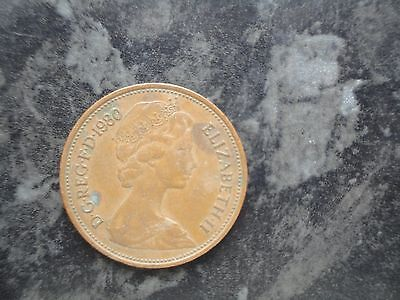 New Pence Rare 2P Coin From 1980 For Coin Collectors Free P+P