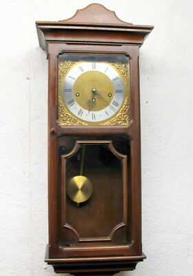 Old Westminster Wall Clock Chime Clock Regulator *- Metamec -*