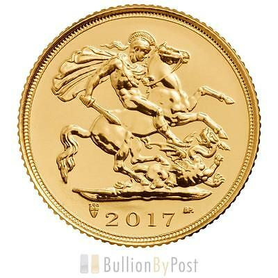 2017 Gold Half Sovereign