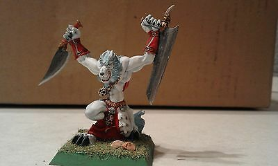 Confrontation-Wolfen Of Yllia-Wolfen Warrior-Modified-Painted-Rackham