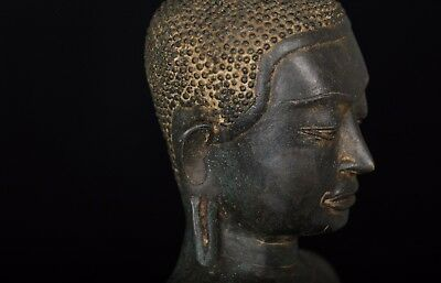 Masterpiece 18th Century Sukhothai Thai Enlightenment Buddha Statue - 55cm/22""
