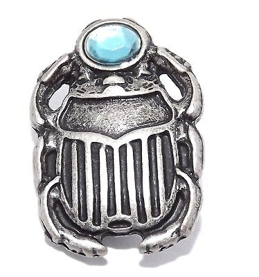 Egyptian Scarab Beetle Pewter Rivet Concho (Long Life)