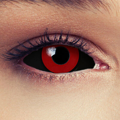 Tokyo Ghoul Cosplay costume full sclera contacts full eye lenses saw doll 22mm