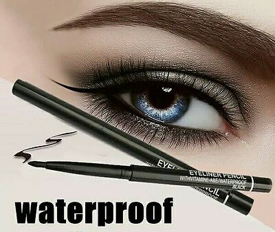 M A C Brown Waterproof Retractable Rotary Eyeliner Pen Eye Liner Pencil #T