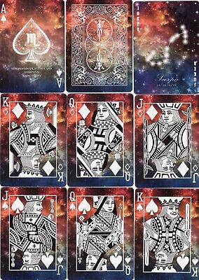 "SUPERB PACK ""Bicycle - Scorpio (Scorpion) (SUPERB CARDS)"" Playing Cards"