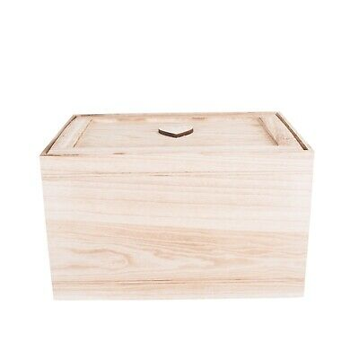Wooden Chest Kid Toys Storage Collection Box Wooden Crates Christmas Gift Hamper