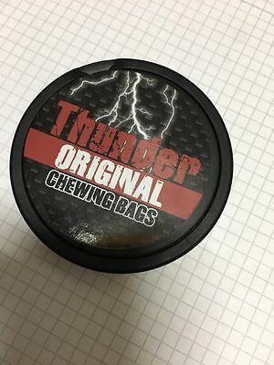 Thunder original chewing bags snus