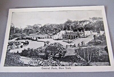 Antique Vintage Central Park, Ny Medical Advertisement Wright Products  Card