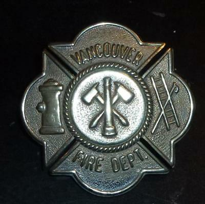 Canada Vancouver Fire Dept badge