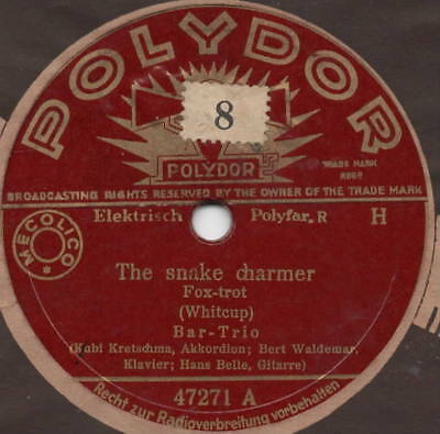 "78er Euro-Jazz Bar-Trio ""The snake charmer / Afraid to dream"""