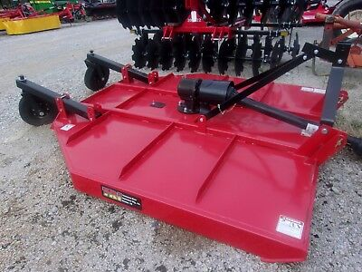 New TRI 7 ft. MD Brush Hog (3 point)-- **Made in USA Can ship @ $1.85 mile.