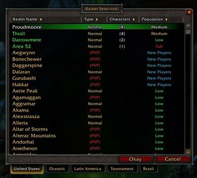WORLD OF Warcraft , PC online MMOPRG, 1st Edition, 2005, Blizzard