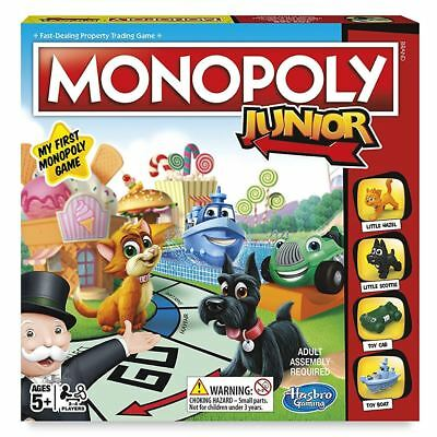 Hasbro Monopoly Junior Board Game - Fun Family Kids Gift Ages 5+ (2017 Version)