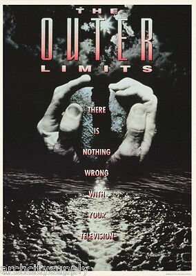 Lot Of 2 Posters:movie Repro : The Outer Limits       #fpo244      Lc29 C
