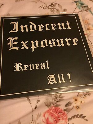 Indecent Exposure Oi! Vinyl LP Original