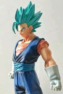 Dragon Ball Z Super Action Figure di Vegeth SSGSS Super Sajan God Blue 20cm