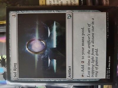 Magic the Gathering MTG Sol Ring Uncommon Mint