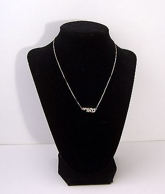 """925 Sterling Silver Jewish Pendant and Necklace """"MAHRI"""" Mary"""
