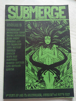 Fanzine Submerge #6 Nozems Siouxsie And The Banshees Dropzone Screaming Trees
