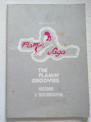 French Fanzine The Flamin Groovies 1978