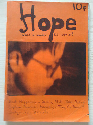 French Fanzine Hope - Beat Happening Captain America Heavenly Driscolls