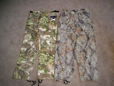 Mens Real Tree Max Scent Blocker Pants Camo Convertible Shorts  Medium