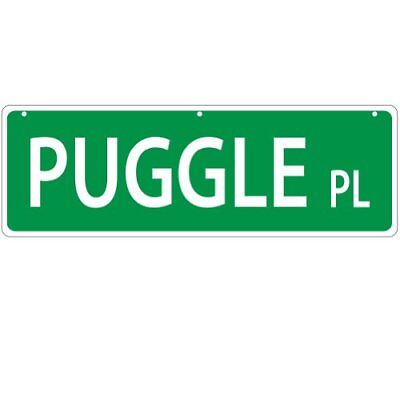 Imagine This Imagine This Puggle Street Sign
