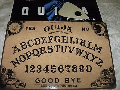 Vintage William Fuld Ouija Board #600 Very Nice