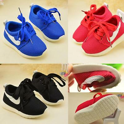 Baby Toddler Athlet Sports Shoes Kids Boy Casual Flats Running Sneaker Sz 5-9