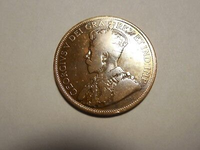 1915 Canadian LargePenny/Cent in fine condition. But you decide!!!!!!