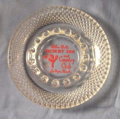 Las Vegas Nevada WILBUR CLARK'S DESERT INN hobnail Casino Ashtray