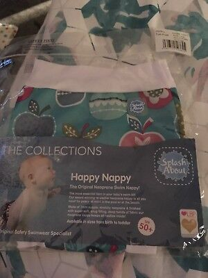 Brand new in packaging Happy Nappy Large - tutti frutti 6-14 mths/10-15kg