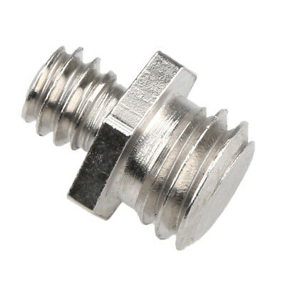 """Durable Metal 1/4"""" Male to 3/8"""" Male Screw Converter for Photography"""
