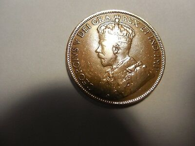 1918 Canadian Large cent in about VF condition.. But you decide!!!!!