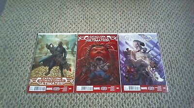Cataclysm The Ultimates #1-3, 1 2 3 Complete Series Set Lot Marvel 2014 /1342/