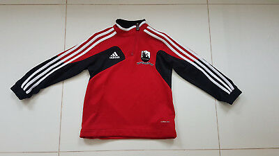 Boys Girls Adidas Swansea City Centenery Football Training Top Jersey 5 - 6 Yrs