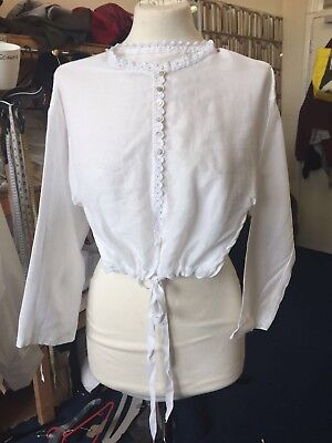 Regency  Young Ladies Long Sleeved Chemisette