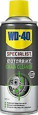 WD-40 Specialist Motorbike Motorcycle Chain Cleaner 400ml LTD stock left