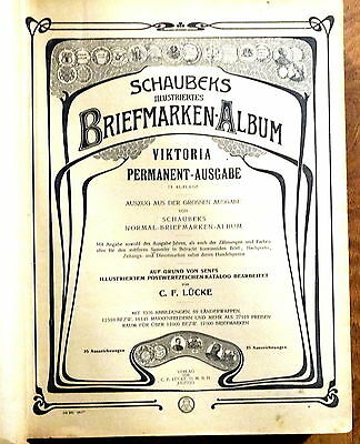 Vintage World Stamp Album (Schaubeks Briefmarken-Album)