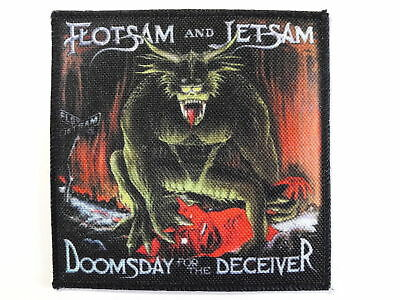 FLOTSAM AND JETSAM Doomsday For The Deceiver new printed patch thrash metal