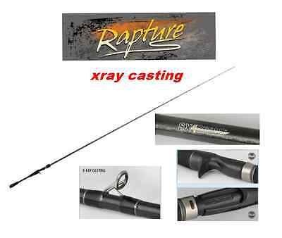 RAPTURE X-RAY SPECIALE BLACK BASS CASTING MONOPEZZO Mag Spinner FUJI IL TOP !!