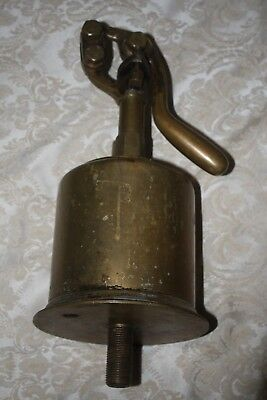 Vintage Brass HAND Operated OIL PUMP for Boat / Marine
