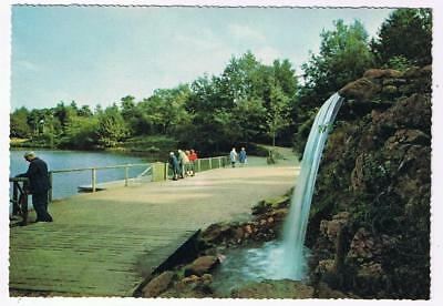 Holland Netherlands Postcard Apeldoorn Waterval Berg en Bos Waterfall