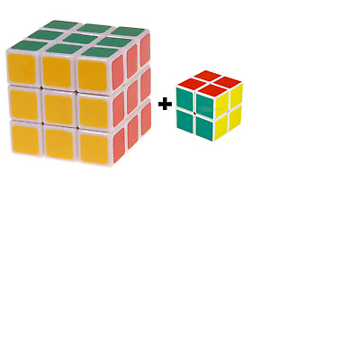 2 X Original Rubik's cube The World's best-Known Puzzle, UK SELLER ideal 4 gift
